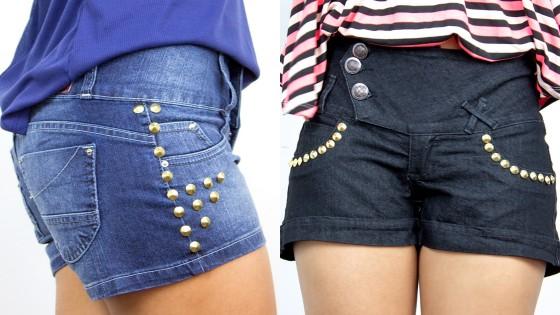 Shorts com spike